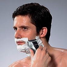 wet dry washable mens electric razor panasonic es-rt51-s