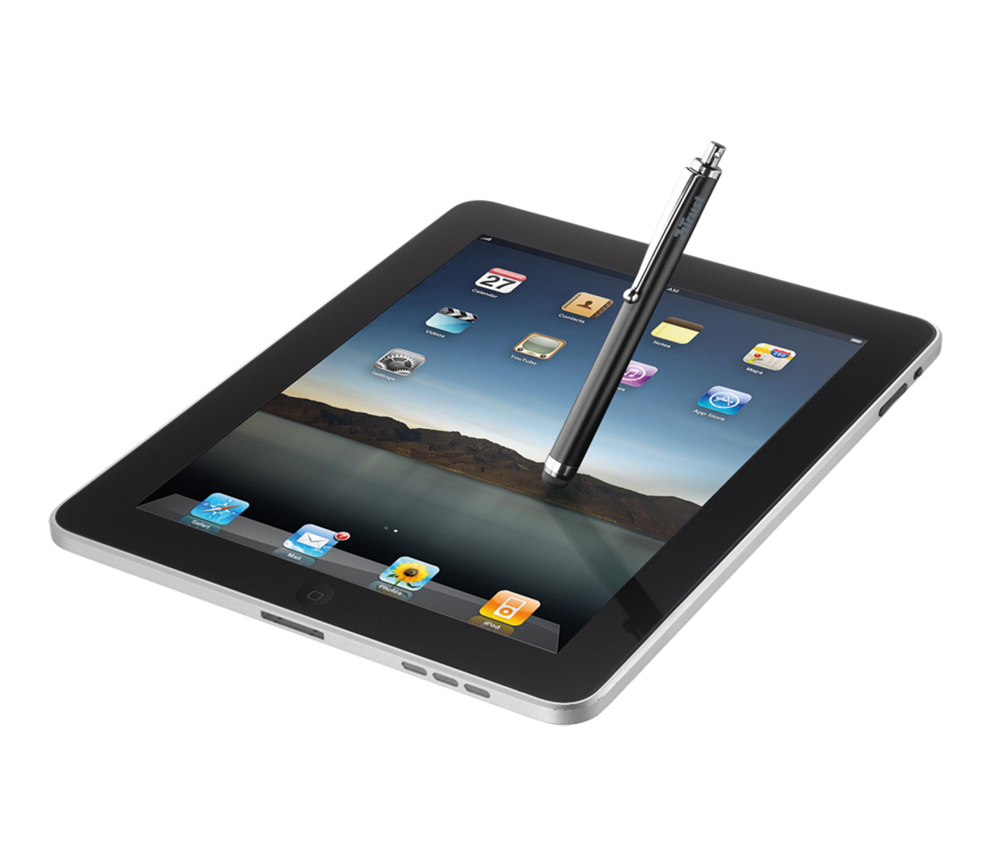Trust Stylus Pen For All Tablets And Smartphones Black