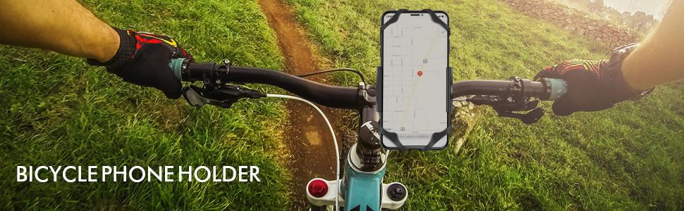 Amazon Com Ipow Universal Metal Base Bike Cell Phone Mount Bicycle