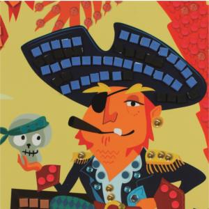 mosaique;pirate;sycomore;jeux;jouets;loisir creatif;stick;fun