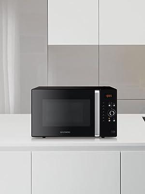 Daewoo KOC-9Q4T Microondas, 28 litros, digital, grill, acero inoxidable, 900 W, Inox