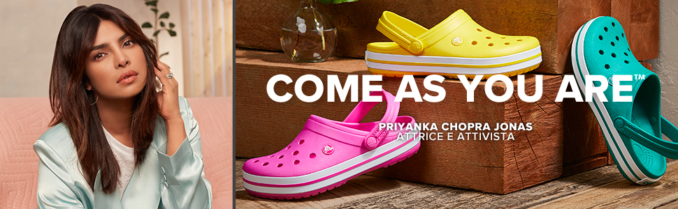 Crocs, come as you are