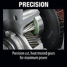 percision cut heat treated gears maximum power max strength working