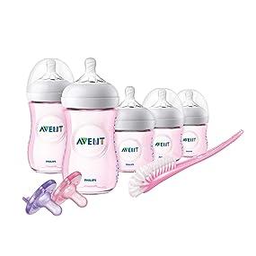 Philips Avent Natural Pink Infant Starter Set