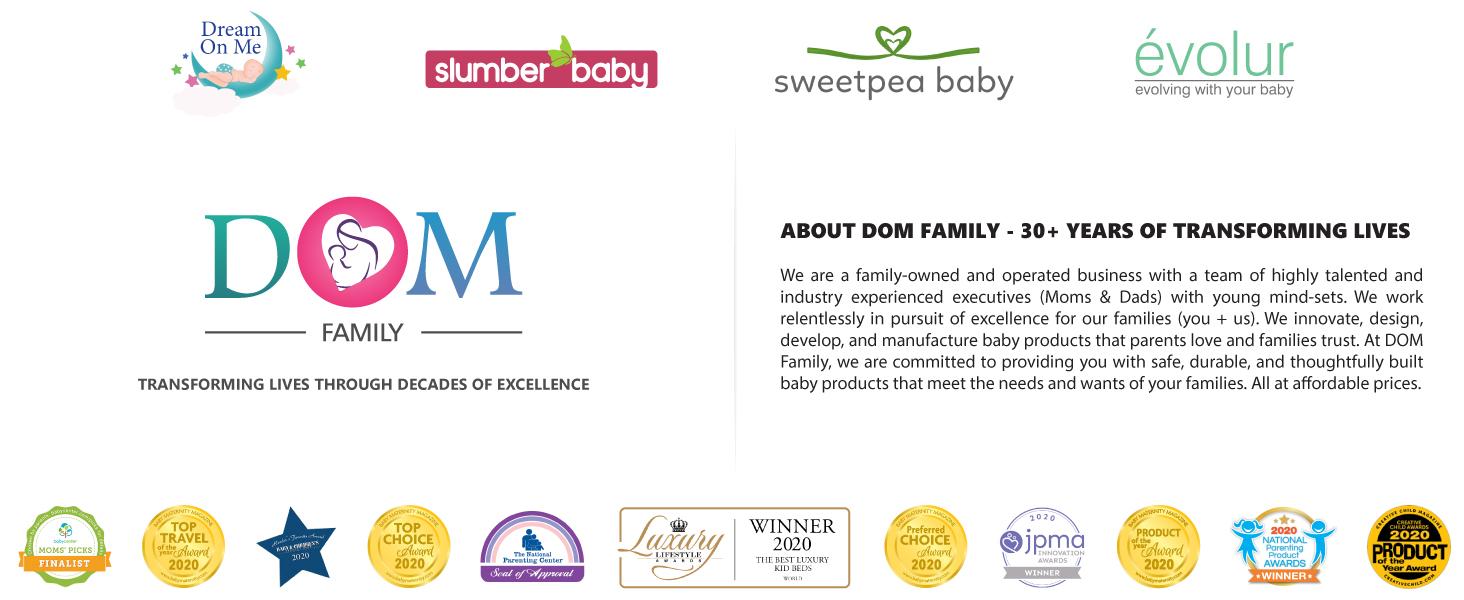 dream on me, evolur, baby products, nursery furniture, best baby products, nursery products, babies
