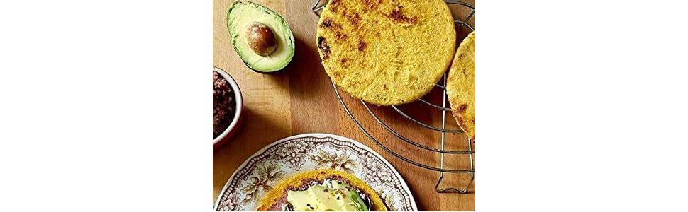 Cook Fresh Arepas
