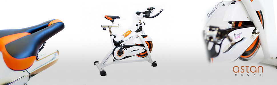 Astan Hogar Bicicleta De Spinning Evolution Dual Cross Ciccly Ah-Ft2040,: Amazon.es: Deportes y aire libre
