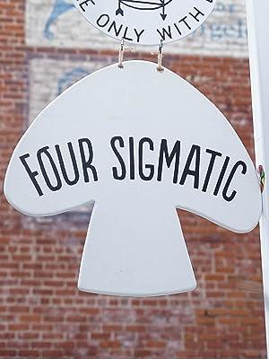 four sigmatic shroom room logo