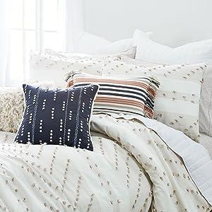 splendid monterey comforter duvet cover set cotton soft pillowcase sham soft white designer pillow