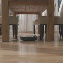 robot, aspirador, roomba, limpieza, inteligente, suciedad, esquinas, desniveles, escaleras