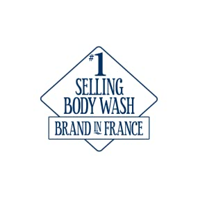 number one selling body wash in france