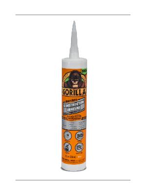 Gorilla Heavy Duty Construction Adhesive liquid nails sika pl glue waterproof pl200 loctite outdoor