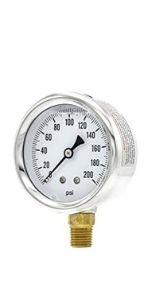 Single Scale Pressure Gauge
