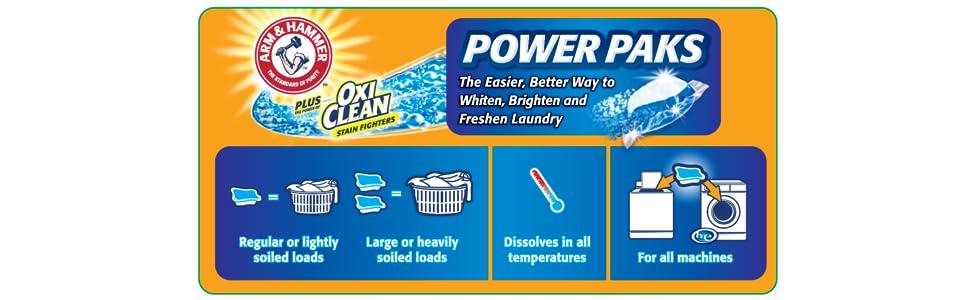 Amazon Com Arm Amp Hammer 2 In 1 Laundry Detergent Power