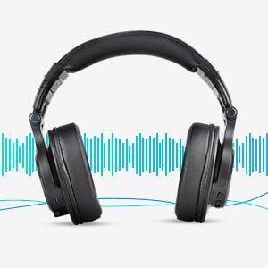 CLAW SM50 Professional Studio Monitoring DJ Headphones