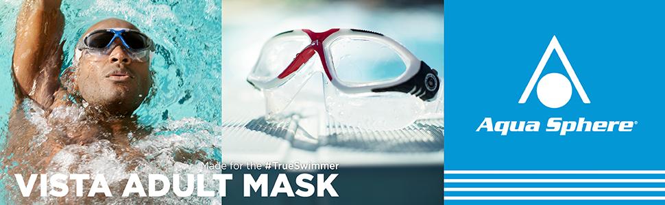 Amazon.com   Aqua Sphere Vista Swim Mask 4b84b2267218