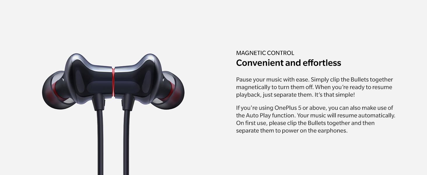 OnePlus Earphones Convenient and effortless