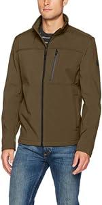 f373088f1da Calvin Klein Men s Angle Placket Soft Shell Jacket · Calvin Klein Men s Soft  Shell Open Bottom Jacket