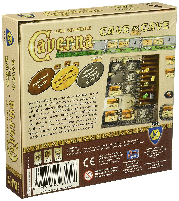 Amazon.com: Mayfair Games Caverna: Cave vs Cave: Toys & Games