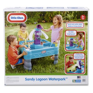 little tikes sandy lagoon water table;fisher price water table;toys for kids;outdoor fun for kids