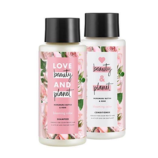 Amazon.com: Love Beauty And Planet Rose Shampoo and