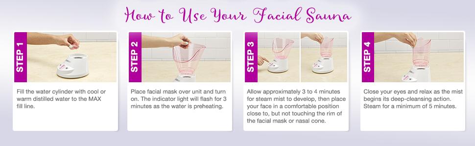 at home facial sauna face sauna face steamer