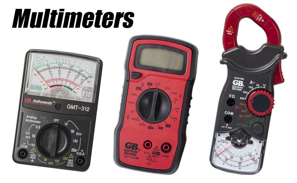 Gardner Bender Multimeters