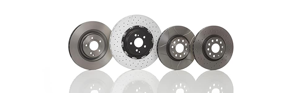Bosch 0986478342 Front Axle Brake Disc Set Replaces 46403960