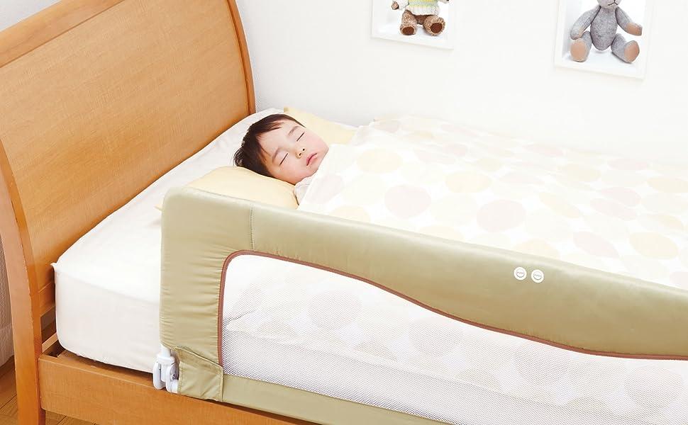ベビー ベッドフェンス ベッド SG ガード 転落 防止