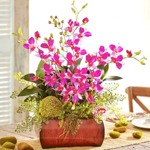 Nearly Natural Fake Artificial Silk Flowers, Plants, Arrangements, Trees