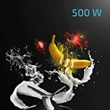 Cecotec Batidora de Vaso Individual Power Titanium 500 Fresh&Go ...