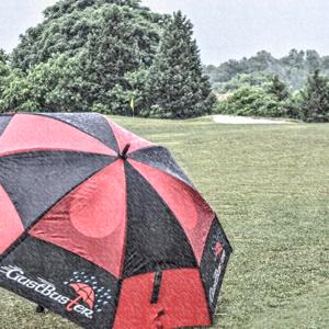 GustBuster golf umbrella