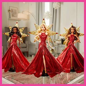 Barbie Magia Delle Feste 2017 Bionda