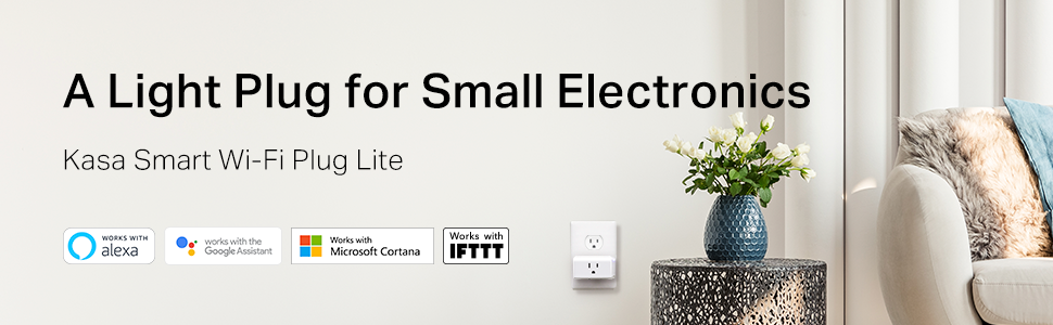 A Light Plug for Small Electronics