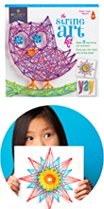 80f8cc4f8 Craft-tastic Owl String Art Kit · Craft-tastic Unicorn String Art Kit ·  Loopdedoo Friendship Bracelet Maker · Craft-Tastic I Love Mermaids Kit ...