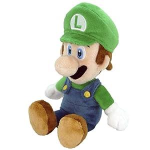amazon com nintendo official super mario luigi plush 8 toys games