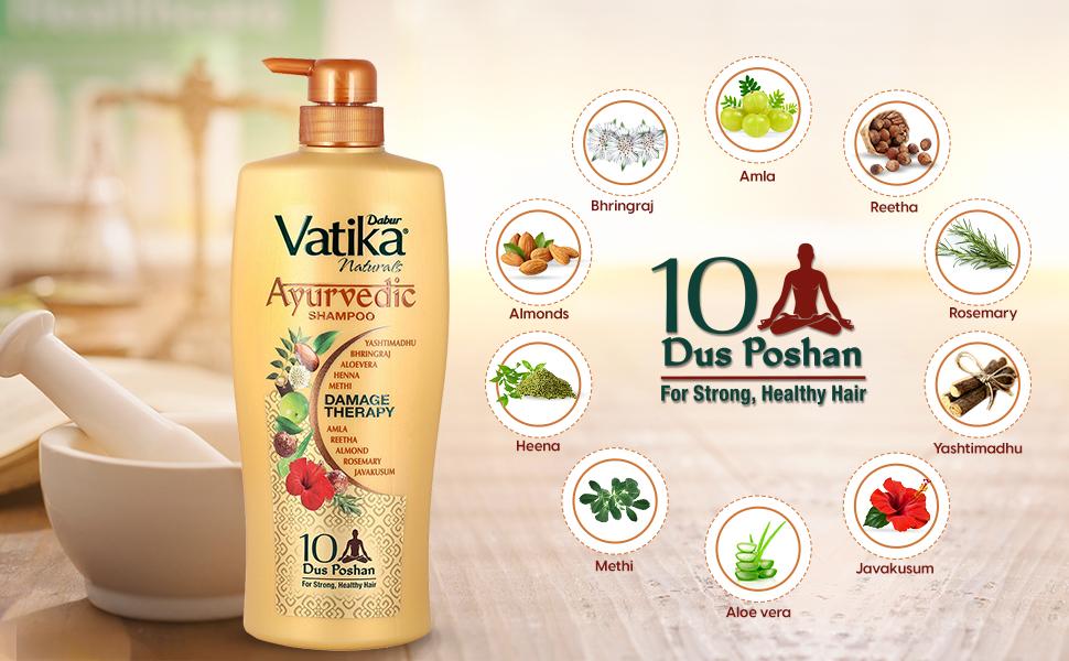 Ayurvedic shampoo; hair nourishment; shampoo; herbal shampoo