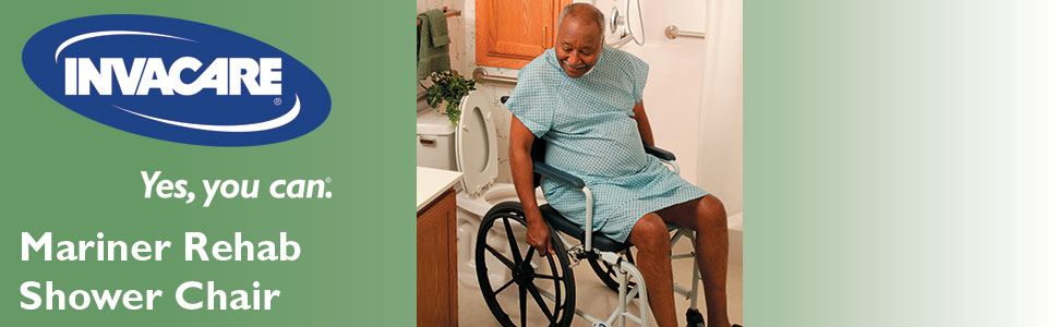 Amazon.com: Invacare Mariner Rehab Shower Chair, with