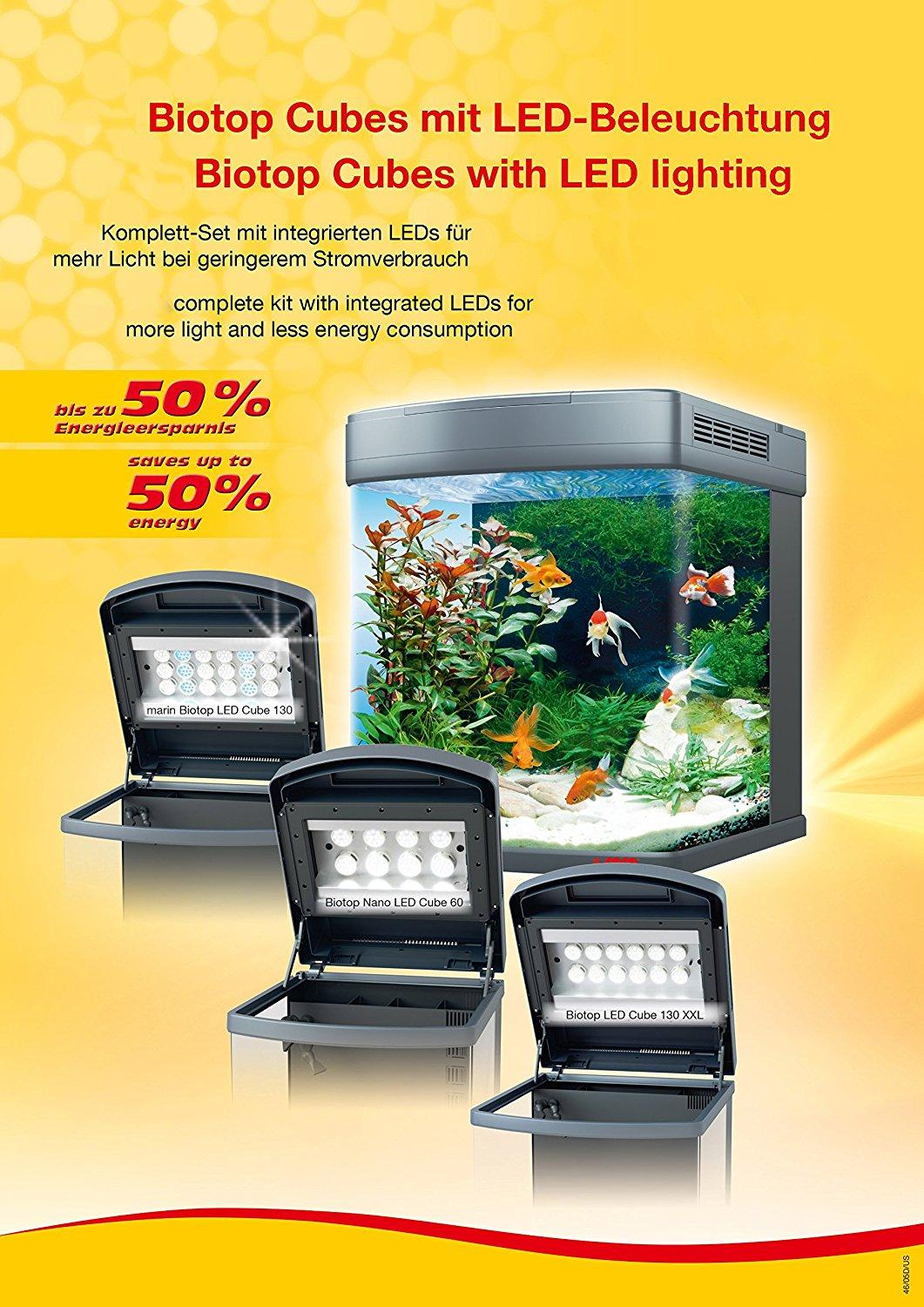 sera 31066 biotop nano led cube 16 ein 16 l s wasser nano komplettaquarium mit led beleuchtung. Black Bedroom Furniture Sets. Home Design Ideas