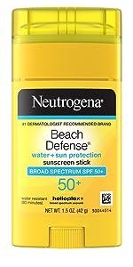 Neutrogena Beach Defense Sunscreen Face & Body Stick with Broad Spectrum