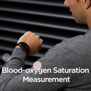 Blood-Oxygen Saturation Measurement