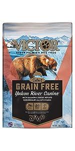 VICTOR Grain Free Yukon River 30-lb