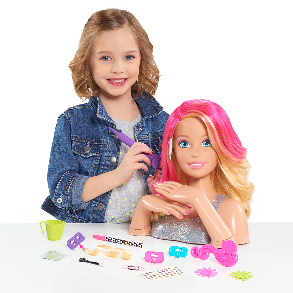 dolls hair styling just play deluxe styling 3412