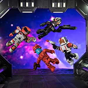 Roblox Superhero Life 2 Secret Room Amazon Com Roblox Action Collection Star Commandos Four Figure