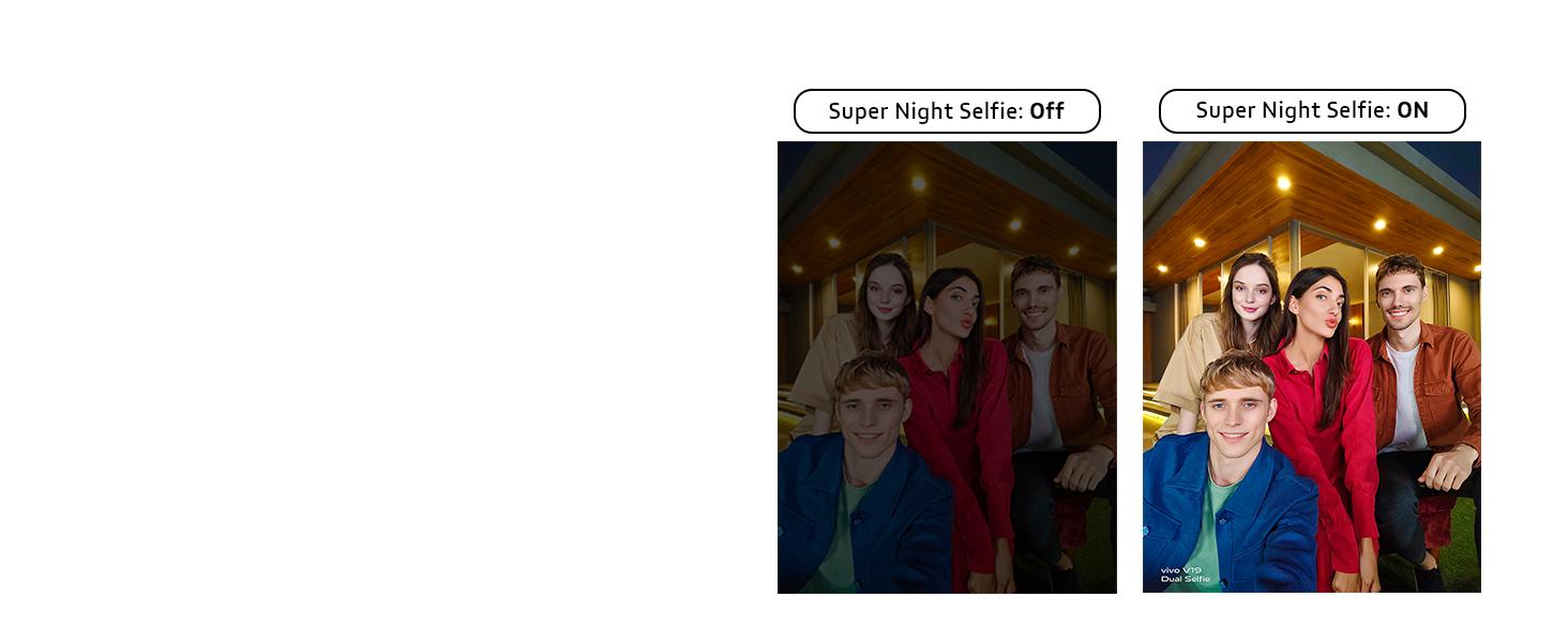 Super Night Selfie