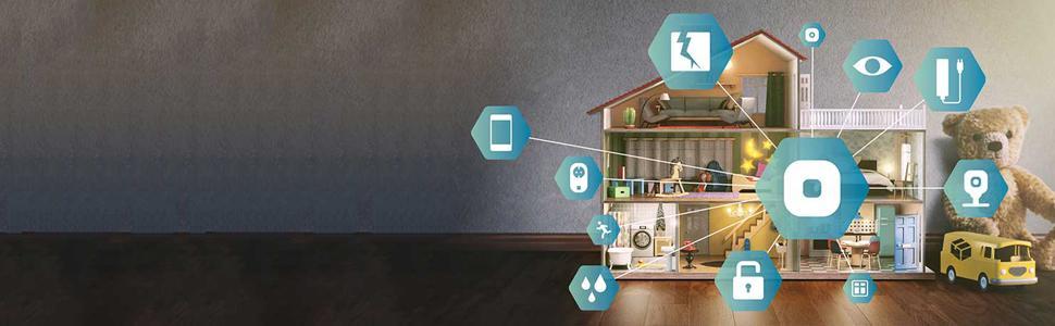 Panasonic KX-HN6011SPW - Kit de monitorización y control doméstico