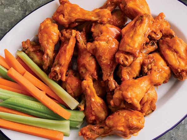pressure cooker wings, air fryer wings, wing recipe, buffalo wings