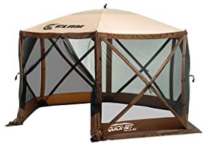 clam, shelter, mosquito, screen, tent