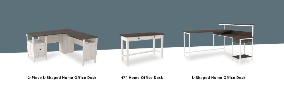 l shaped corner 2 piece desk regular standing desk modern contemporary industrial metal frame
