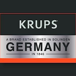 KRUPS, brand story, logo, krups